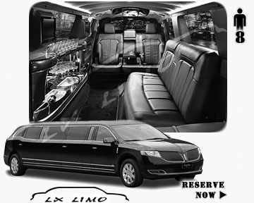 Stretch Wedding Limo for hire in Tampa, ON, Canada